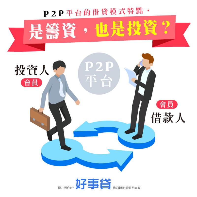 P2P是籌資,也是投資?