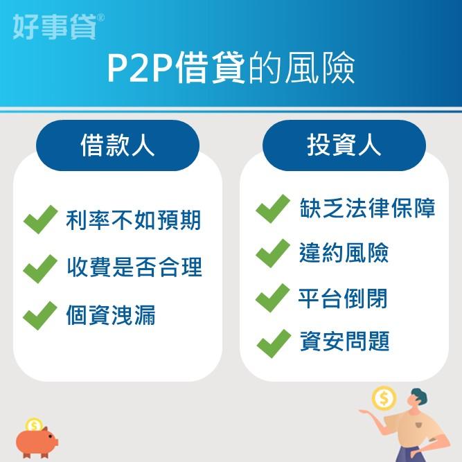 p2p借貸的風險