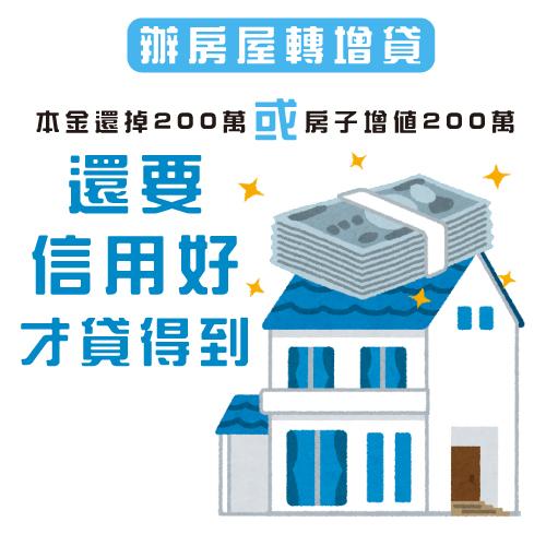 辦房屋轉增貸
