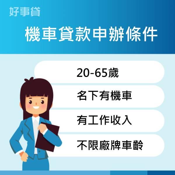 機車貸款申請條件